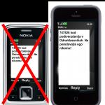Восстановление доступа к профилю через другого мобильного телефона